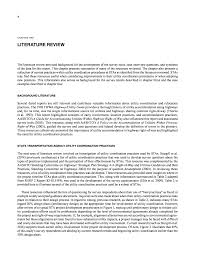 chapter two literature review effective utility coordination  page 10