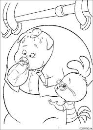 Small Picture Coloring page Chicken Little pig Coloringme