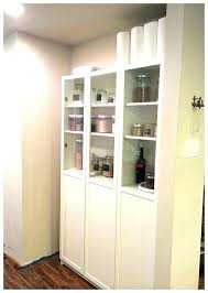 bookcase with glass doors billy instructions s ikea uk white