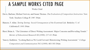001 Research Paper Mla Format For Works Cited Page Sample What Is