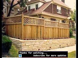 Small Picture Bamboo Fencing Ideas Fences Design For Outdoor Garden YouTube