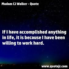Madam Cj Walker Quotes Enchanting Madam CJ Walker Archives Quotejr