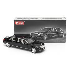 <b>1:32</b> S600 Limousine <b>Diecast</b> me<x>tal <b>Car</b> Model 20.5 x 7.5 x 5cm ...