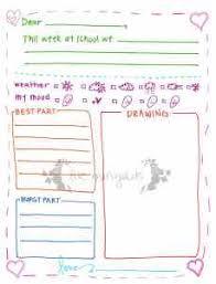 Letter to Grandma Printable Template Girl Five Marigolds resize=229 300