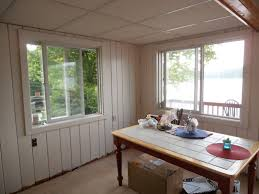 top painting knotty pine paneling with p