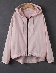 <b>Stylish</b> Candy Color <b>Hooded Long Sleeve</b> Coat For Women | Ropa