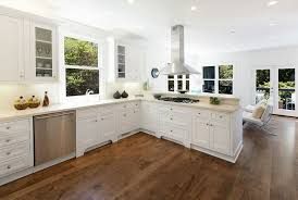 image brazilian cherry handscraped hardwood flooring. white kitchen with brazilian cherry flooring image handscraped hardwood