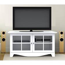 tv stands inspiring solid wood stand glass doors with ripping white