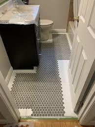 painting tile floors bathroom flooring