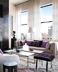 campion platt / Bachelorette pad / feminine interior design decor / purple,  lavender