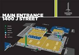 Sacramento Community Center Theater Seating Chart Floor Plan