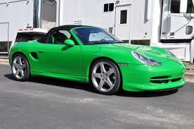 Green Porsche 986 Boxster … | Pinteres…