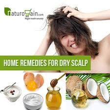 home remes to get rid of dry scalp