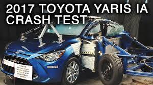 2017 Toyota Yaris iA Side Crash Test - YouTube