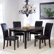 Palazzo Counter Height Dining Table Hayneedle Dark Espresso Square Wood Veneer Dining Table