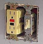 hometime how to electrical installing outlets gfci outlets single pole switch