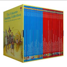 The Usborne My Third Reading Library Young Readers Collection 40 Books