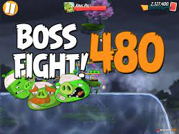 Angry Birds 2 Boss Fight Level 480 Walkthrough – Cobalt Plateaus Pig Bay