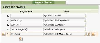 How To Complete A Pages Classes Tab