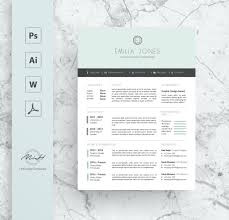 Pastel Blue Professional Resume Template Cv Template Free Cover Letter