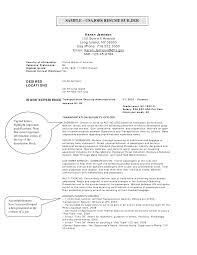 Federal Resume Builder Resume For Study