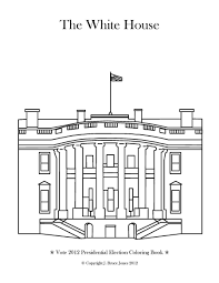 Small Picture White House Coloring Page Throughout With creativemoveme