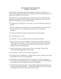 Writing An Essay Outline Examples Mla Format Formal