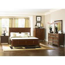 Magnussen Harrison Bedroom Furniture Magnussen 4pc Harrison Queen Size Storage Drawer Bedroom Set In
