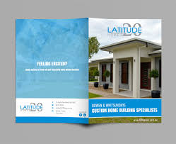 Modern Personable Home Builder Brochure Design For
