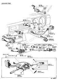 Switch relay puter 7702 toyota hiace rh11