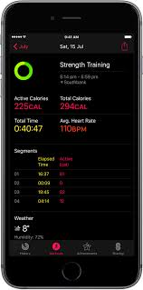 apple watch workout mid session