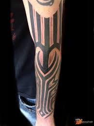 блэкворк стиль татуировки Blackwork Tattoo