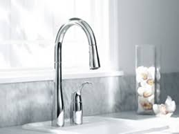 Interior Stainless Kohler Kitchen Faucets With Single Handle