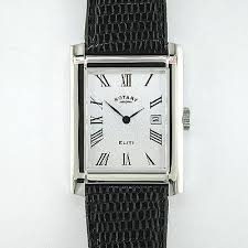 gents rotary watches jewellery gents sterling silver elite range rotary watch