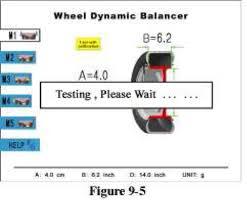 Паспорт на балансировочный станок dwbc Прикрепите контрольный груз 100g на позицию 12 часов внешнего радиуса Через некоторое время интерфейс изменится как на рис 9 7
