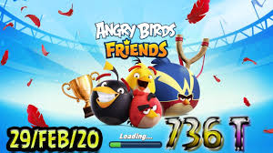 Angry Birds Friends All Levels Tournament 736 Highscore POWER-UP ...