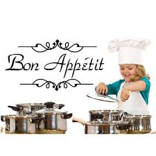 Wandtattoo Name Bon Appetit Für Esszimmer
