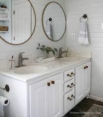builder grade bathroom vanity