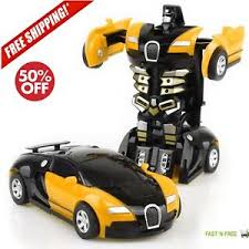 Image is loading Toys-For-Boys-Robot-Car-Kids-Toddler-Robot- Toys For Boys Robot Car Kids Toddler 3 4 5 6 7 8 9 Year Old