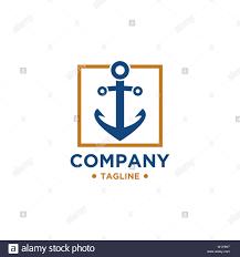 Maritime Logo Design Anchor Logo Design Vector Symbol Of Maritime Icon Or Ocean