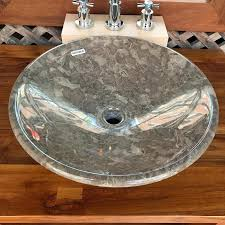 gray vessel sink. Exellent Gray A Nice Modern Mixed Gray Marble Stone Vessel Sink With A Polished  Exterior To Gray Vessel Sink R