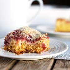 Raspberry Cream Cheese Coffee Cake Recipe Pinch of Yum