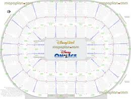 Auburn Seating Chart With Rows Palace Of Auburn Hills Seating Chart Disney On Ice