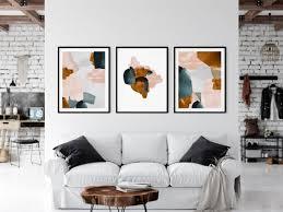 large abstract art modern art print