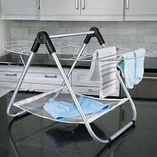 details about lightweight folding countertop clothing drying rack laundry great for delicates