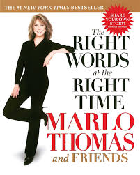 The Right Words At The Right Time Marlo Thomas 9780743446501