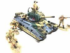 unimax toys. 1:32 unimax forces of valor north africa wwii british matilda tank and infantry toys