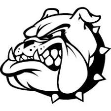 bulldog clipart black and white.  White This Pin Is Of My High School Mascot The Bulldog I Went To Louisville  Maleu2026 Throughout Bulldog Clipart Black And White