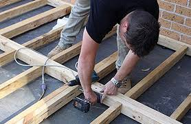 How to build a deck video Without Stringers How To Build An Outdoor Timber Deck Good Times Diy Easy Bunnings Good Times Decking How To Build Deck Video Guides