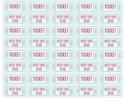 Free Printable Raffle Ticket Template Download Cool Free Printable Raffle Ticket Template Download Impressive Free